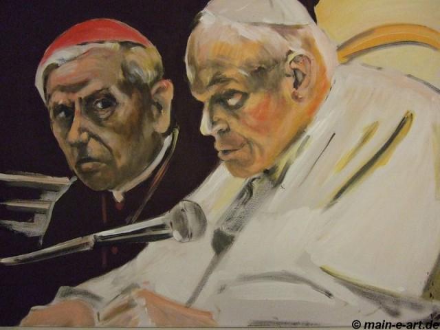 Kardinal und Papst
