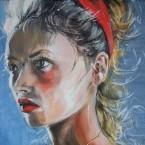 Mädchen mit dem roten Haarband
