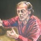 Probe mit Dirigent Lothar Zagrosek