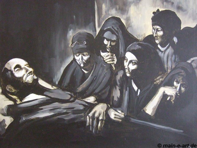 Tod des Patriarchen